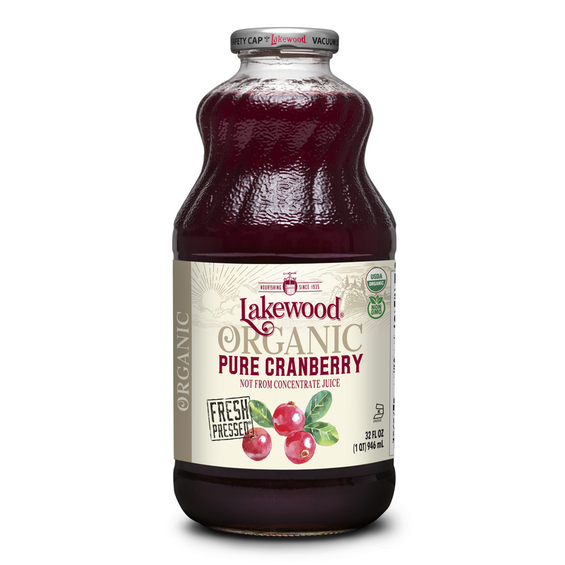 Lakewood Pure Cranberry Juice - Go Vita Batemans Bay
