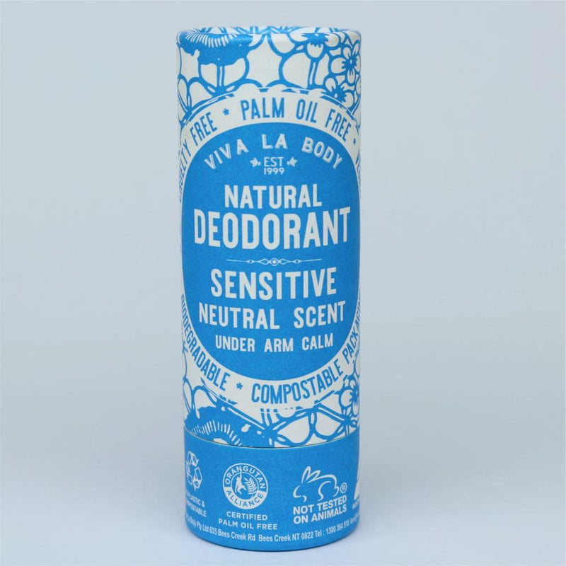 Viva La Body Natural Deodorant - Sensitive Neutral Scent - Go Vita Batemans Bay