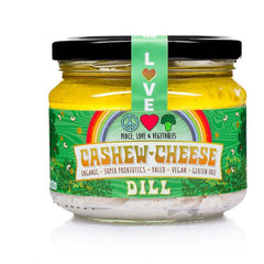 Peace Love & Vegetables Dill Cashew Cheese - Go Vita Batemans Bay