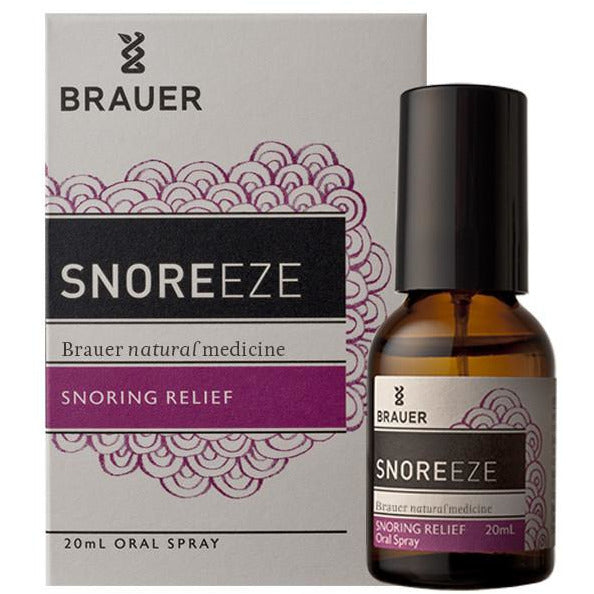 Brauer SnoreEze Oral Spray - Go Vita Batemans Bay