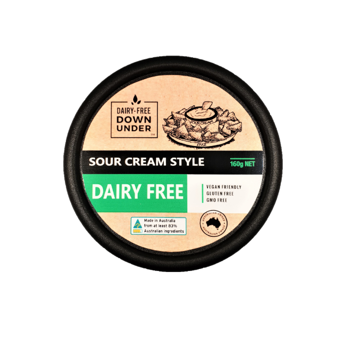 Dairy Free Down Under Vegan Sour Cream - Go Vita Batemans Bay