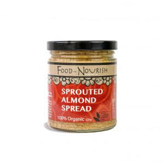 Food to Nourish Activated Almond Spread - Go Vita Batemans Bay