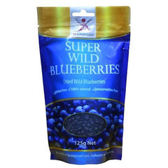 Dr Superfoods Dried Wild Blueberries - Go Vita Batemans Bay