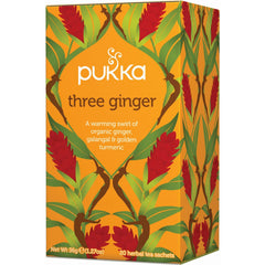 Pukka Three Ginger Tea - Go Vita Batemans Bay