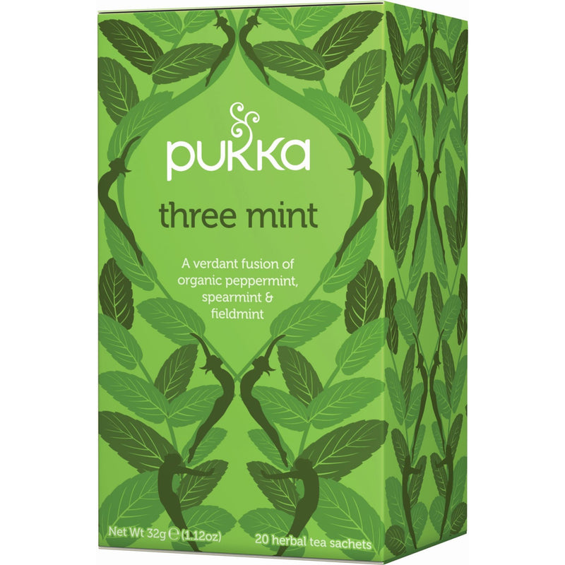 Pukka Three Mint Tea - Go Vita Batemans Bay