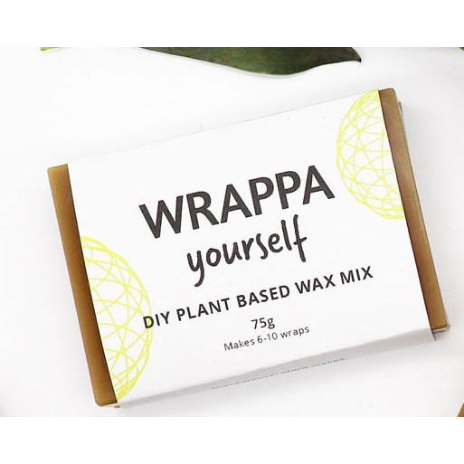 WRAPPA Yourself DIY Bars for Reusable Food Wraps - Plant Based Wax Mix - Go Vita Batemans Bay