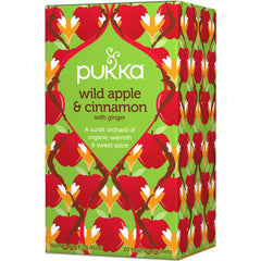 Pukka Wild Apple & Cinnamon Tea - Go Vita Batemans Bay