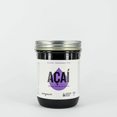 Loving Earth Organic Acai Powder - Go Vita Batemans Bay