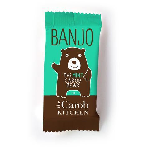The Carob Kitchen - Banjo The Carob Bear - Mint - Go Vita Batemans Bay