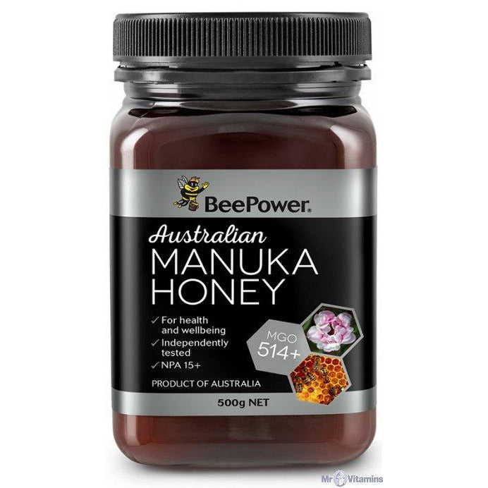 Bee Power Australian Manuka Honey MGO 514+ (UMF 15+) - Go Vita Batemans Bay
