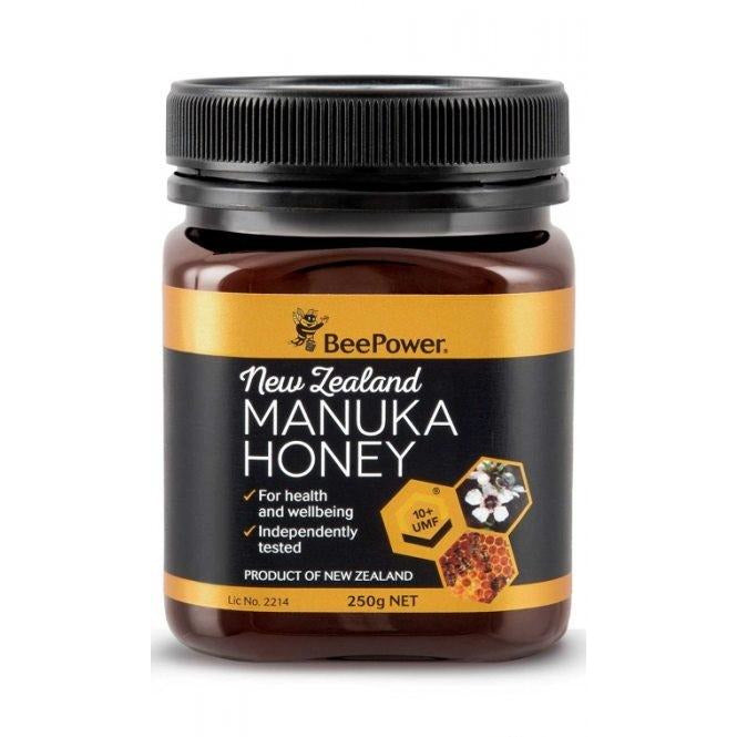 Bee Power New Zealand Manuka Honey UMF 10+ - Go Vita Batemans Bay