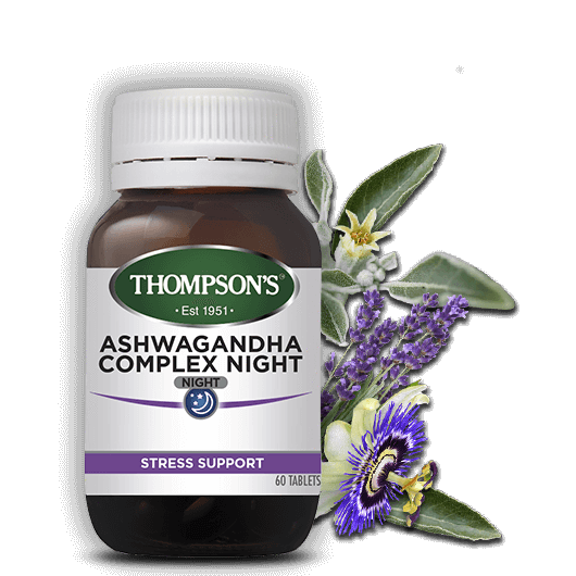 Thompsons Ashwagandha Complex Night - Go Vita Batemans Bay