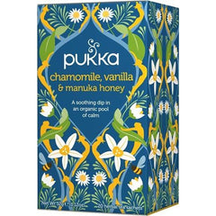 Pukka Chamomile Vanilla & Manuka Honey Tea - Go Vita Batemans Bay