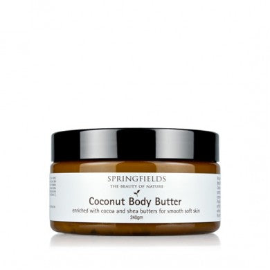 Springfields Coconut Body Butter - Go Vita Batemans Bay