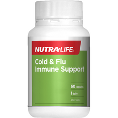 Nutra-Life Cold & Flu Immune Support - Go Vita Batemans Bay