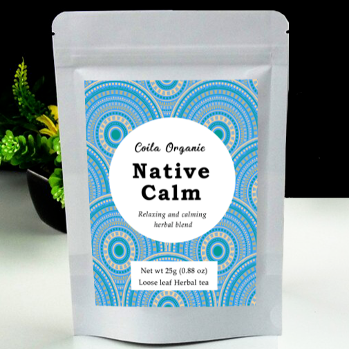 Coila Organic Native Calm Tea - Go Vita Batemans Bay