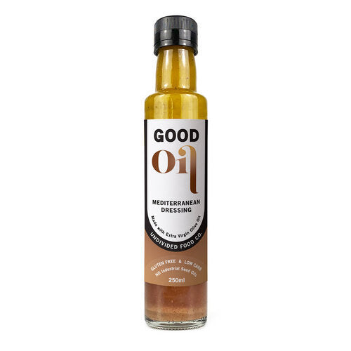 Good Oil Mediterranean Dressing - Go Vita Batemans Bay