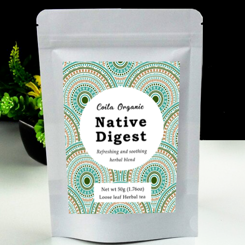 Coila Organic Native Digest Tea - Go Vita Batemans Bay