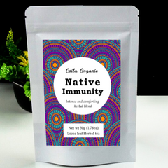 Coila Organic Native Immunity Tea - Go Vita Batemans Bay