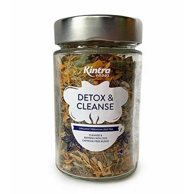 Kintra Foods Organic Detox Cleanse Loose Leaf Tea - Go Vita Batemans Bay