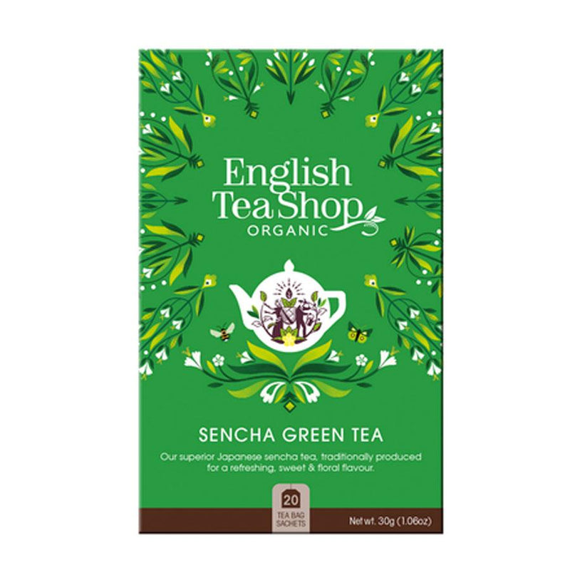 English Tea Shop Green Tea Bags - Go Vita Batemans Bay