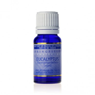 Springfields Eucalyptus Pure Essential Oil - Go Vita Batemans Bay