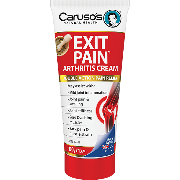 Caruso's Exit Pain Cream - Go Vita Batemans Bay