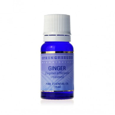 Springfields Ginger Pure Essential Oil - Go Vita Batemans Bay