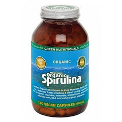 Green Nutritionals Mountain Organic Spirulina 520mg capsules - Go Vita Batemans Bay