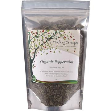 Healing Concepts Organic Peppermint Tea - Go Vita Batemans Bay