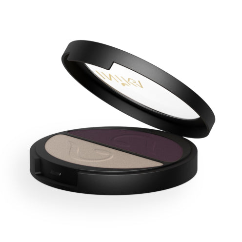 INIKA Organic Pressed Mineral Eye Shadow Duo - Go Vita Batemans Bay