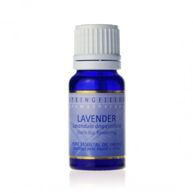 Springfields Organic Lavender Pure Essential Oil - Go Vita Batemans Bay