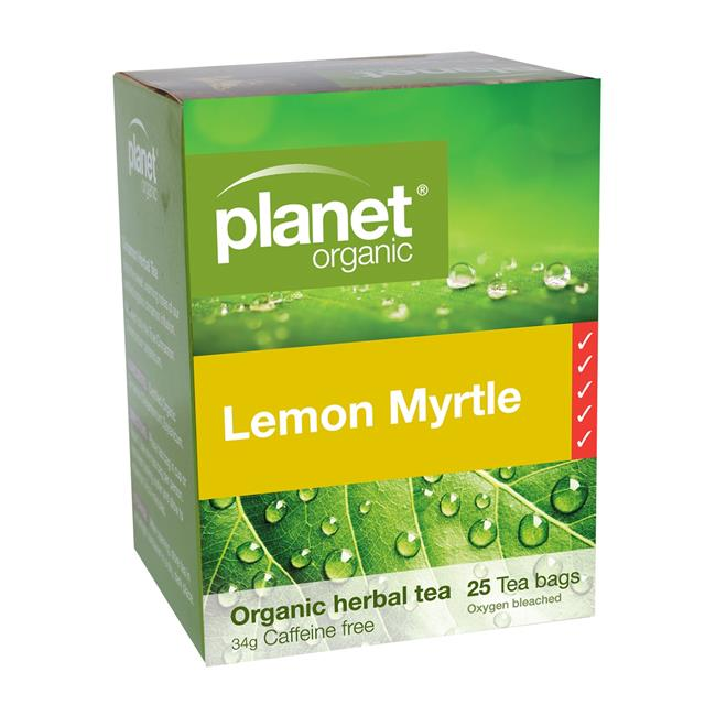 Planet Organic Lemon Myrtle Tea bags - Go Vita Batemans Bay