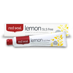 Red Seal Toothpaste - Lemon - Go Vita Batemans Bay