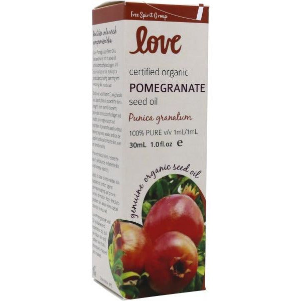 Love Pomegranate Seed Oil - Go Vita Batemans Bay