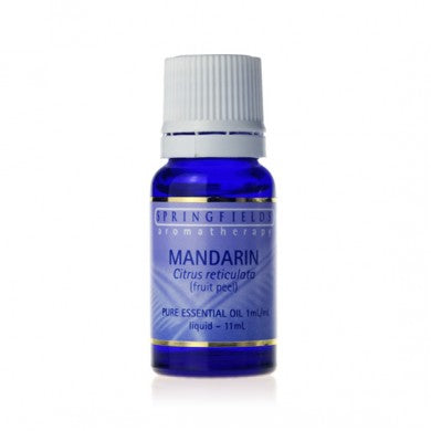Springfields Mandarin Pure Essential Oil - Go Vita Batemans Bay