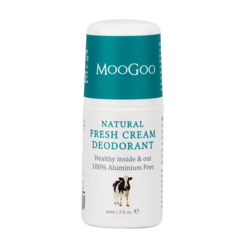 MooGoo Fresh Cream Deodorant - Go Vita Batemans Bay