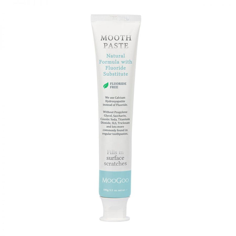 MooGoo Moothpaste Natural Toothpaste - Peppermint - Go Vita Batemans Bay