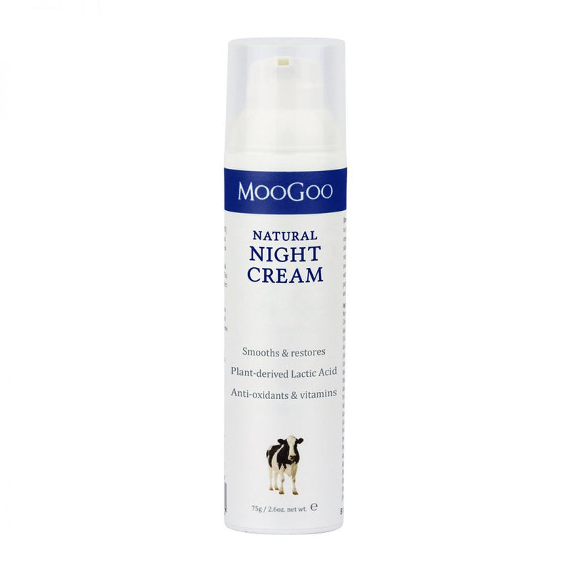 MooGoo Night Time Face Cream - Go Vita Batemans Bay