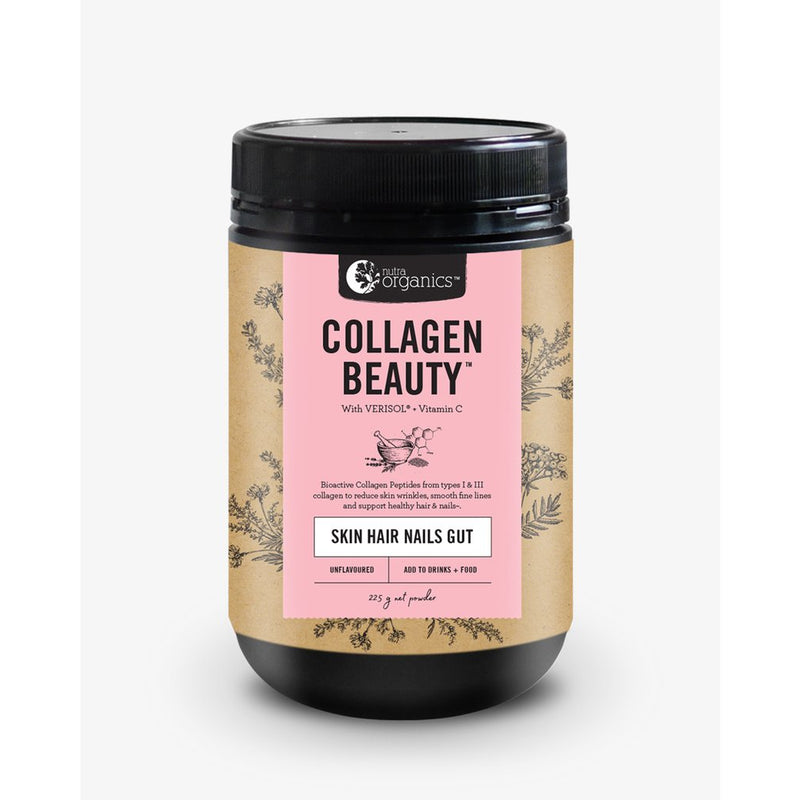 Nutra Organics Collagen Beauty - Go Vita Batemans Bay