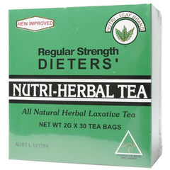 Nutri-Leaf Nutri-Herbal Tea (Regular Strength) - Go Vita Batemans Bay