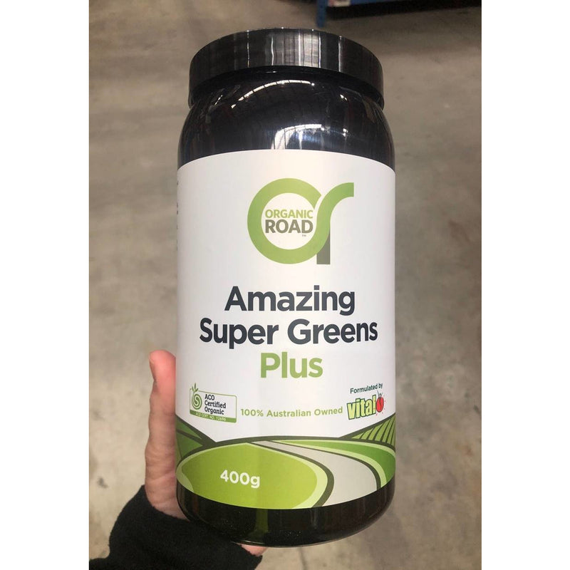 Organic Road Amazing Super Greens Plus