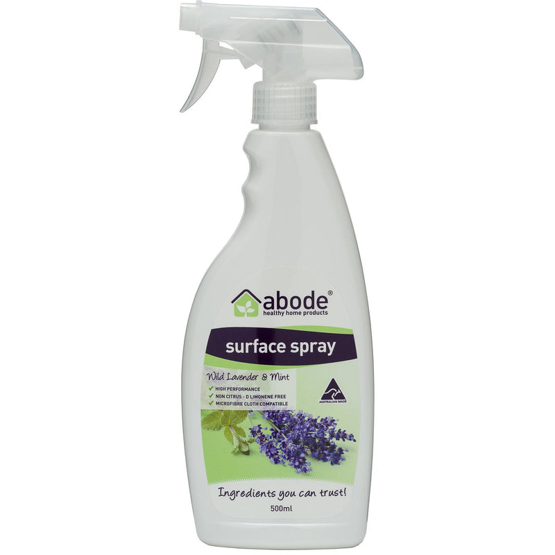 Abode Surface Cleaner Lavender & Mint - Go Vita Batemans Bay