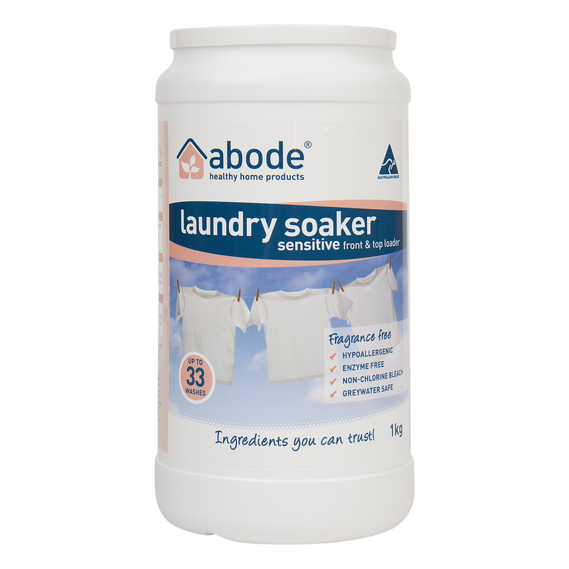 Abode Laundry Soaker Sensitive - Go Vita Batemans Bay