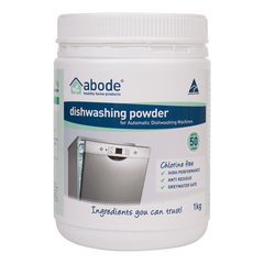 Abode Automatic Dishwashing Powder - Go Vita Batemans Bay