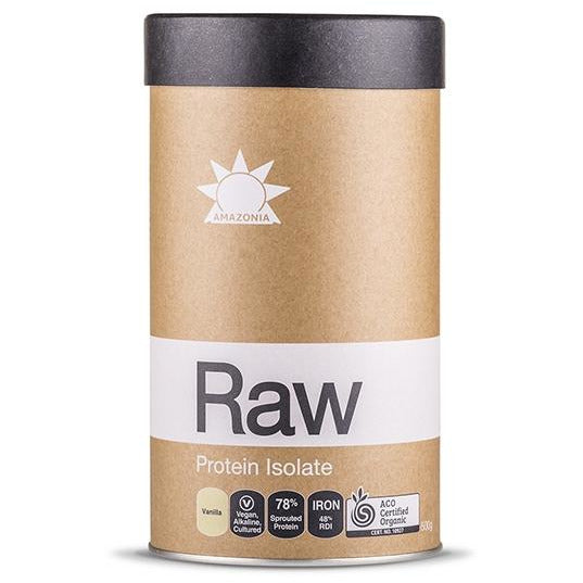 Amazonia Raw Protein Isolate Vanilla - Go Vita Batemans Bay