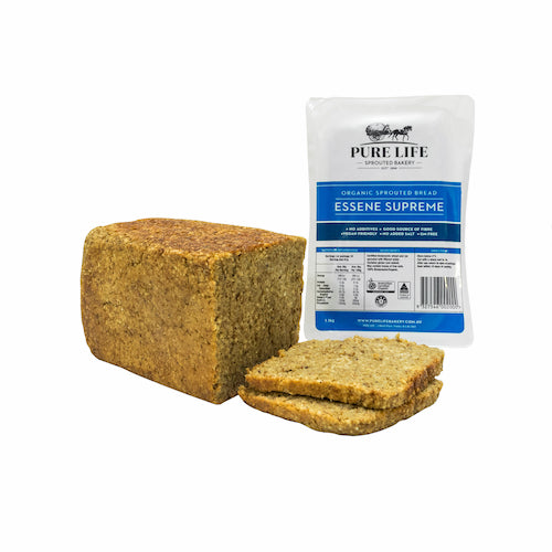 Pure Life Supreme Essene Plain Bread - Go Vita Batemans Bay