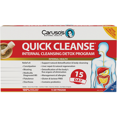 Caruso's Quick Cleanse 15 Day Detox - Go Vita Batemans Bay