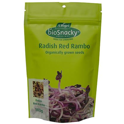 A.Vogel Radish Red Rambo Sprouting Seeds