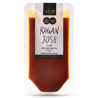 Zest Byron Bay Rogan Josh Recipe Base - Go Vita Batemans Bay